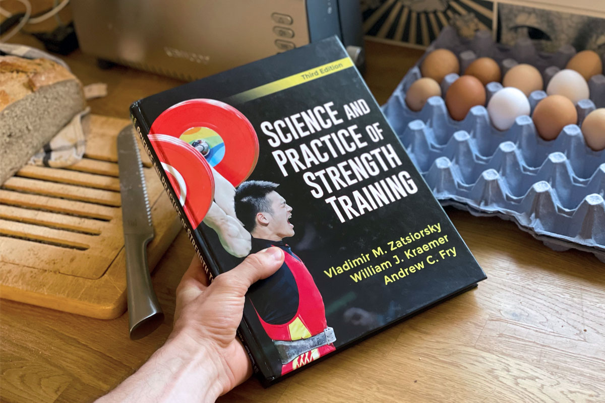 Science and Practice of Strength Training by Vladimir Zatsiorsky - Page Title Photo