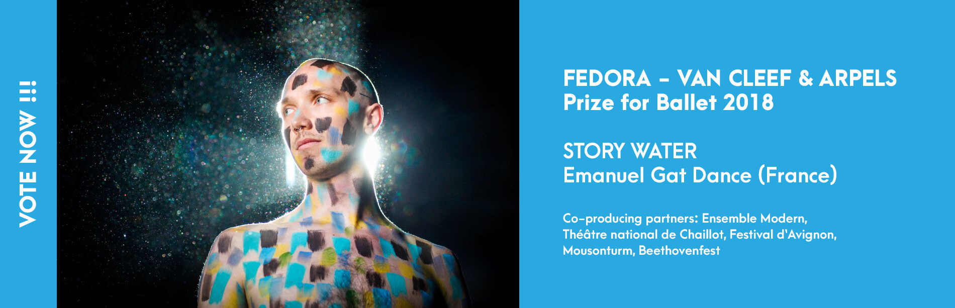 Prize for Ballet 2018 - Story Water