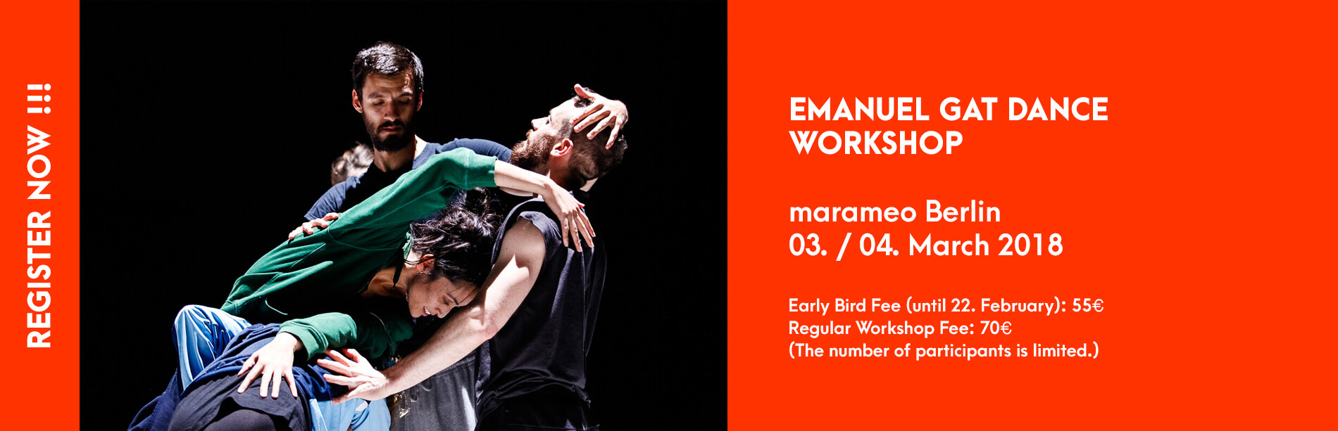 Emanuel Gat Workshop Marameo Berlin