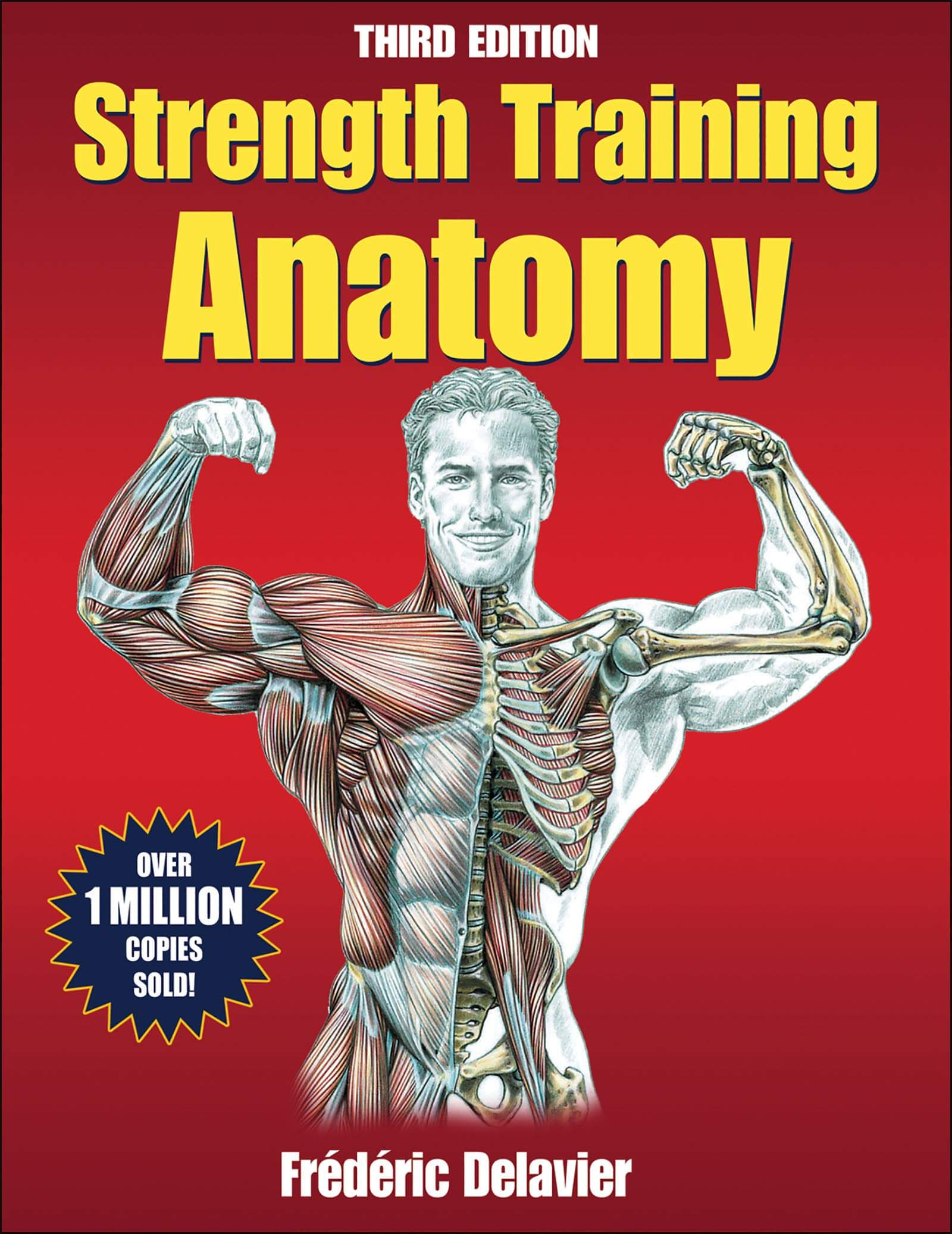 Cover STRENGTH TRAINING ANATOMY by Frédéric Delavier