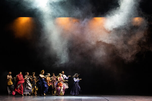 World Premiere of Lovetrain2020 @ Montpellier Danse