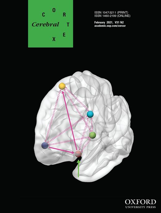 Cover Cerebral Cortex