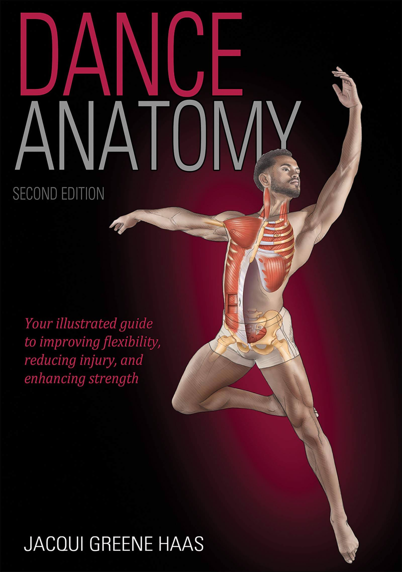 Dance Anatomy by Jacqui Greene Haas Cover