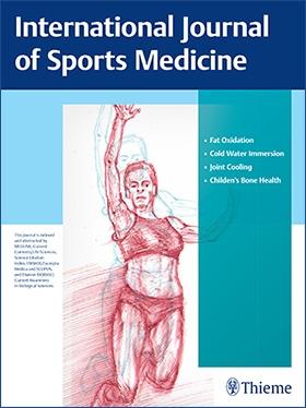 International Journal of Sports Medicine Cover