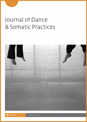 Cover Journal of Dance & Somatic Practices