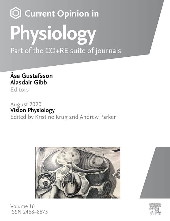 Current Opinion in Physiology Cover