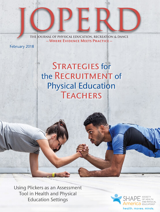 Journal of Physical Education, Recreation & Dance Cover