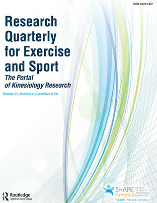 Research Quarterly for Exercise and Sport Cover