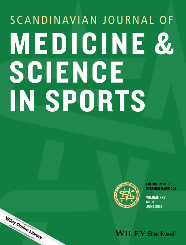 scandinavian journal of medicine and science in sports cover