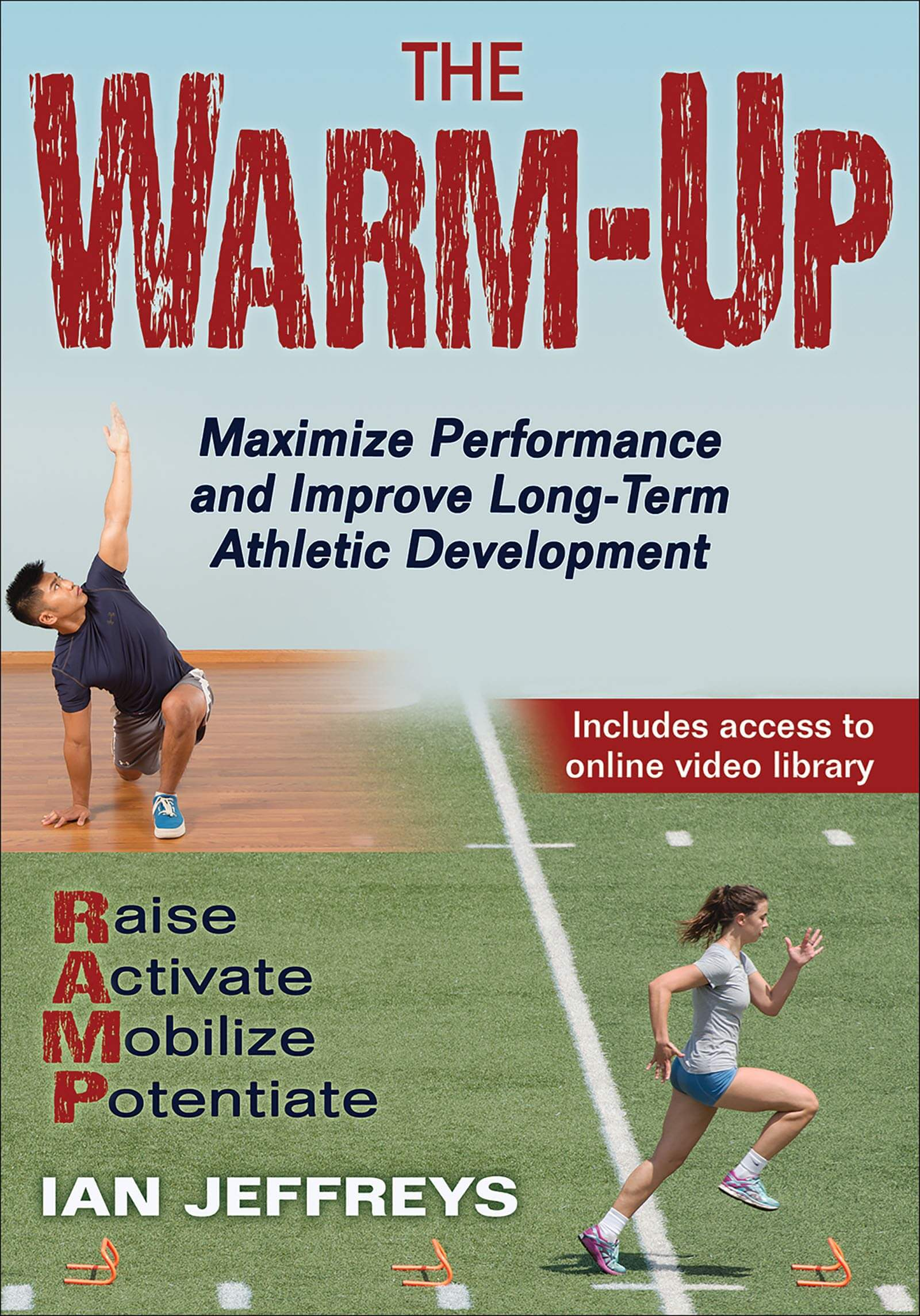 The Warm Up by Ian Jeffreys Book Cover