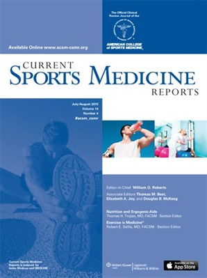Current Sports Medicine Reports Cover