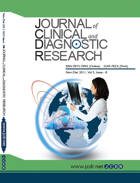 Journal of Clinical and Diagnostic Research Cover