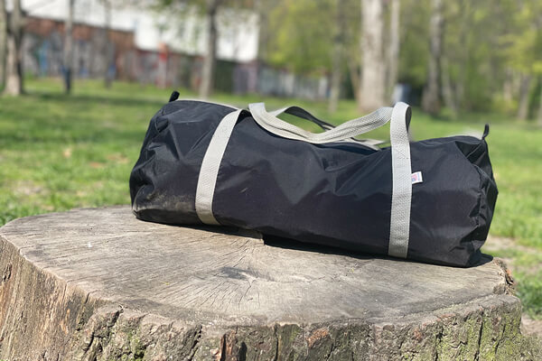 American Apparel Gym Bag / My Secret Weapons Page Preview