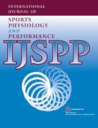 International Journal of Sports Physiology and Performance Cover