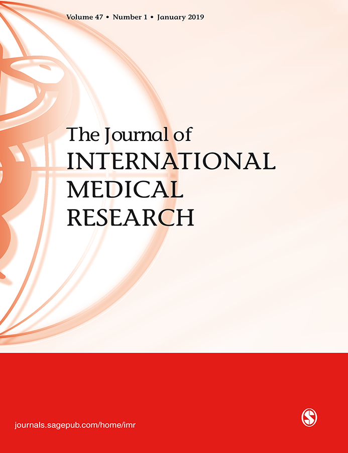 The Journal of International Medical Research Cover