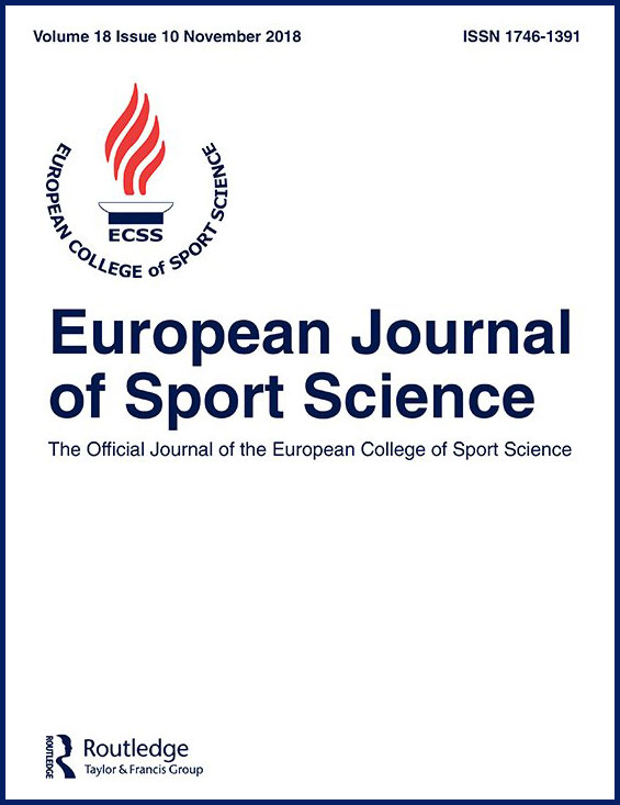 European Journal of Sport Science Cover