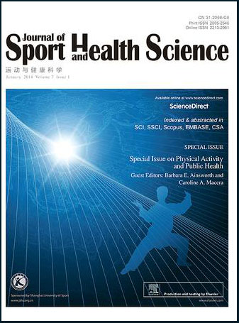Journal of Sport and Health Science Cover