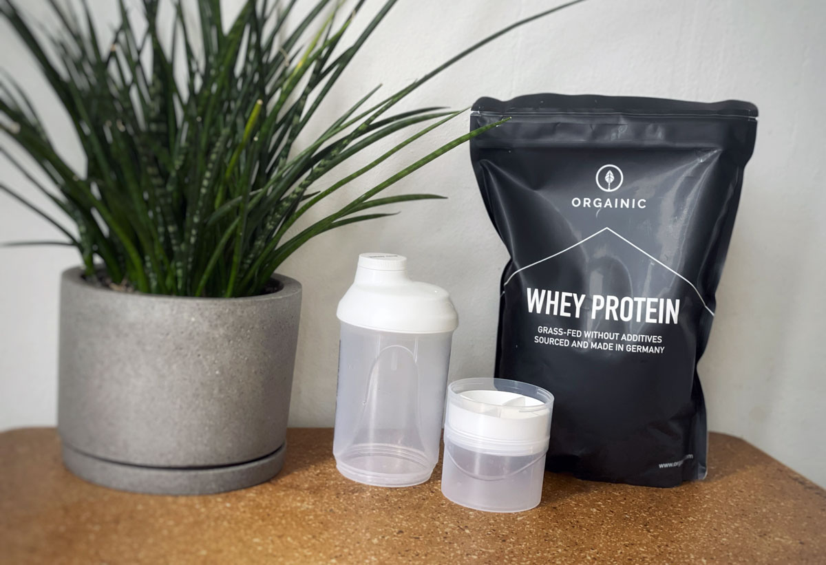 Michael Loehr - The Power of Protein - Orgainic Whey Protein