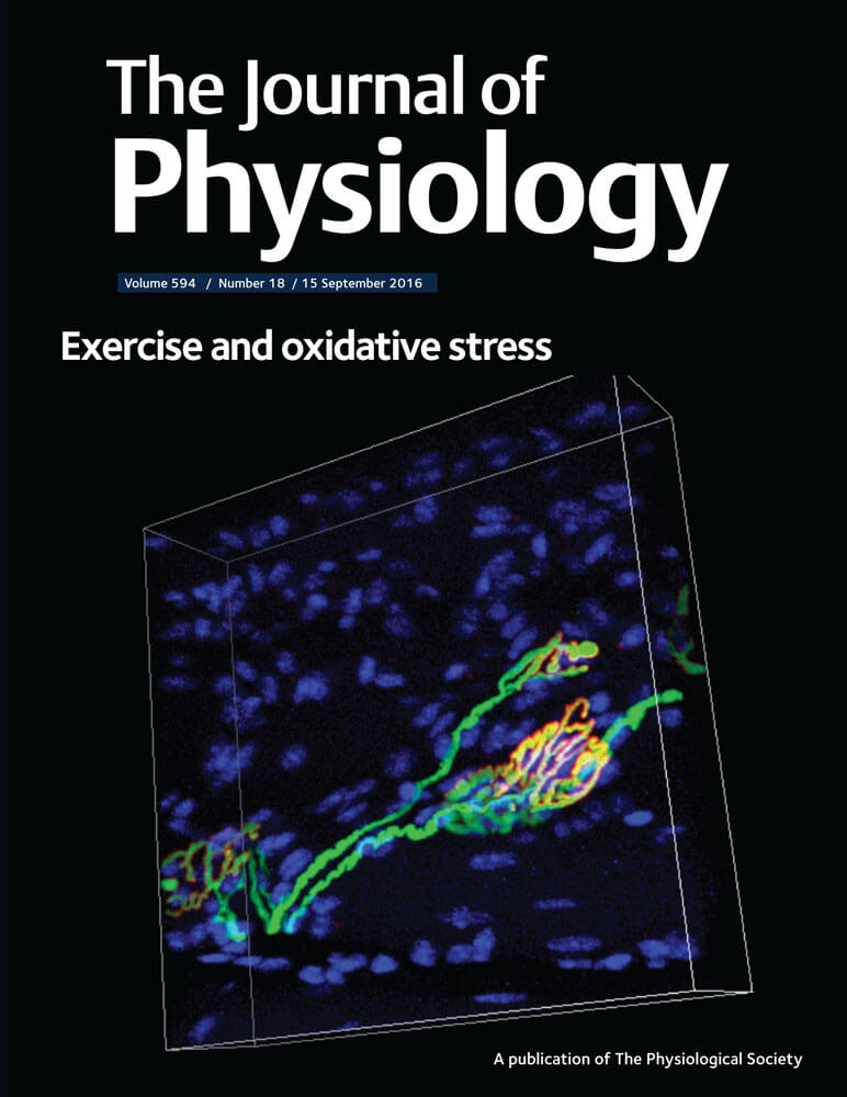 The Journal of Physiology Cover