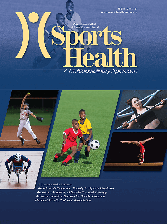 Sports Health Journal Cover